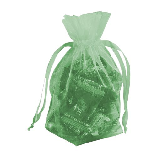 Gusseted Organza Pouches - detailed view 9