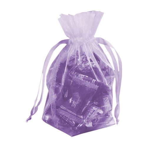 Gusseted Organza Pouches - detailed view 11