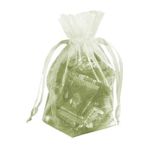 Gusseted Organza Pouches - detailed view 12