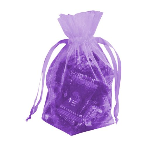 Gusseted Organza Pouches - detailed view 13