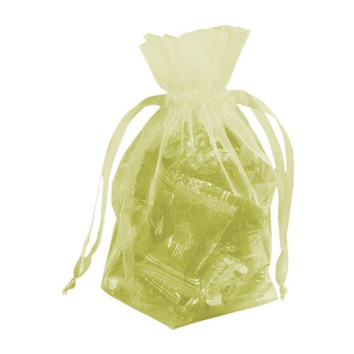 Gusseted Organza Pouches - detailed view 15