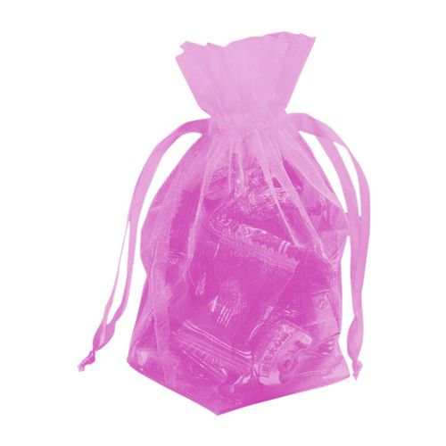 Gusseted Organza Pouches - detailed view 18