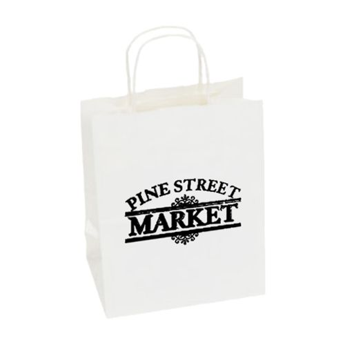 Imprinted High Gloss Paper Shopping Bags - detailed view 16