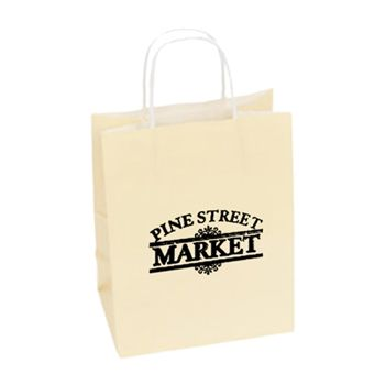 Imprinted High Gloss Paper Shopping Bags - thumbnail view 6