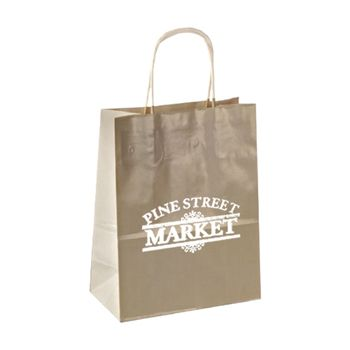 Imprinted High Gloss Paper Shopping Bags - thumbnail view 15