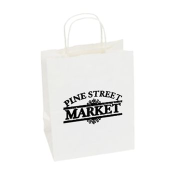 Imprinted High Gloss Paper Shopping Bags - thumbnail view 16