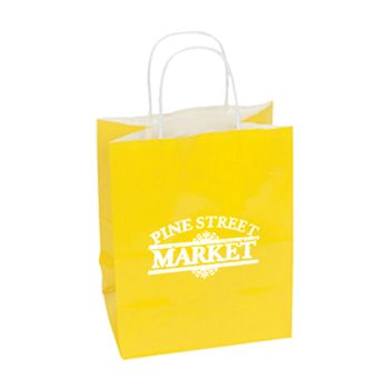 Imprinted High Gloss Paper Shopping Bags - thumbnail view 18