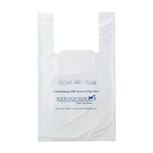 Imprinted T-Shirt Bags - detailed view 1