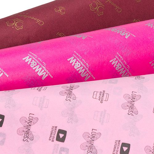 1Color ScatterPrinted Color Tissue Paper - thumbnail view 5