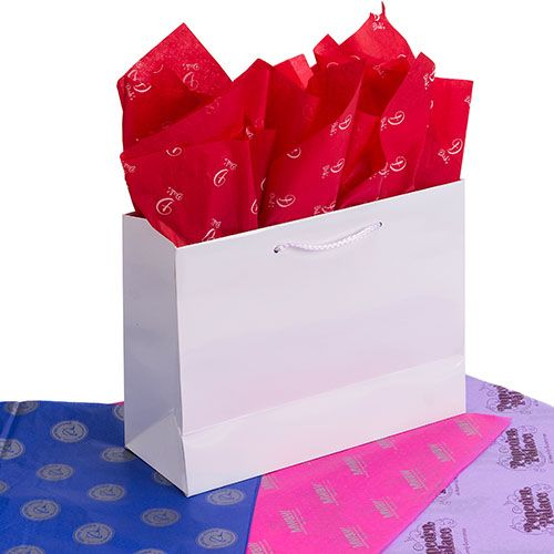 1Color ScatterPrinted Color Tissue Paper - thumbnail view 7