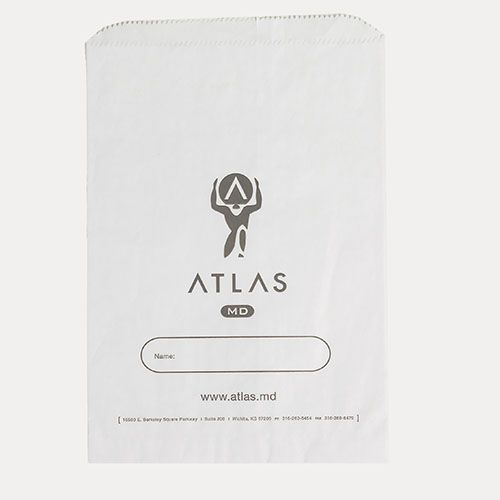 Custom Paper Merchandise Bags - thumbnail view 4